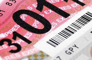 UK Vehicle Tax Disc