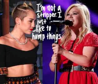 Kelly Clarkson gets dissed for criticizing Miley Cyrus' Performance