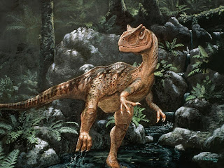 Gambar Allosaurus