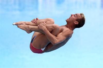 Olympic diver Kristian Ipsen of Team USA