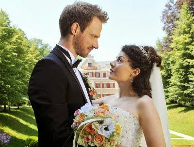 Leonard e Pauline sposi