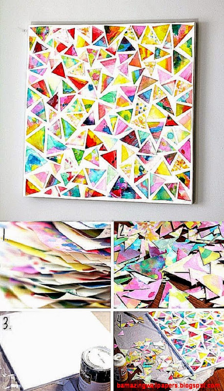 100 Fun and Creative DIY Wall Art Ideas  Design Bump