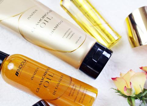 Indola Glamorous Oil - seria genialnych, profesjonalnych kosmetyków do włosów