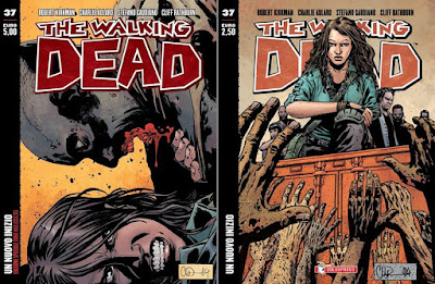 The Walking Dead #37 - Un nuovo inizio (variant + regular)