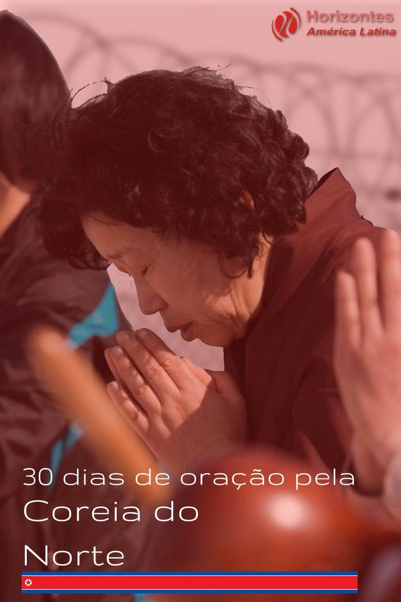30 dias de oração pela Coréia do Norte