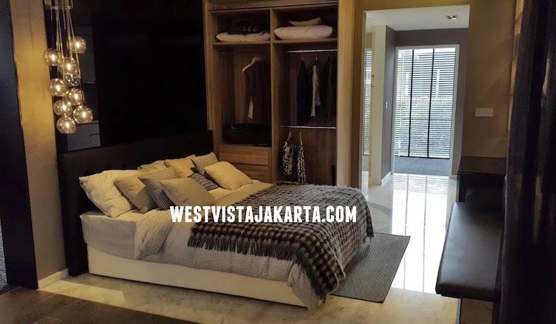 Design Interior Kamar Studio West Vista Jakarta