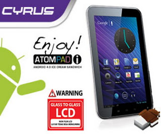 tablet android atom pad cyrus