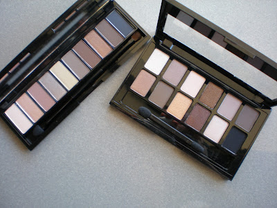 L'oreal La Palette and Maybelline The nudes