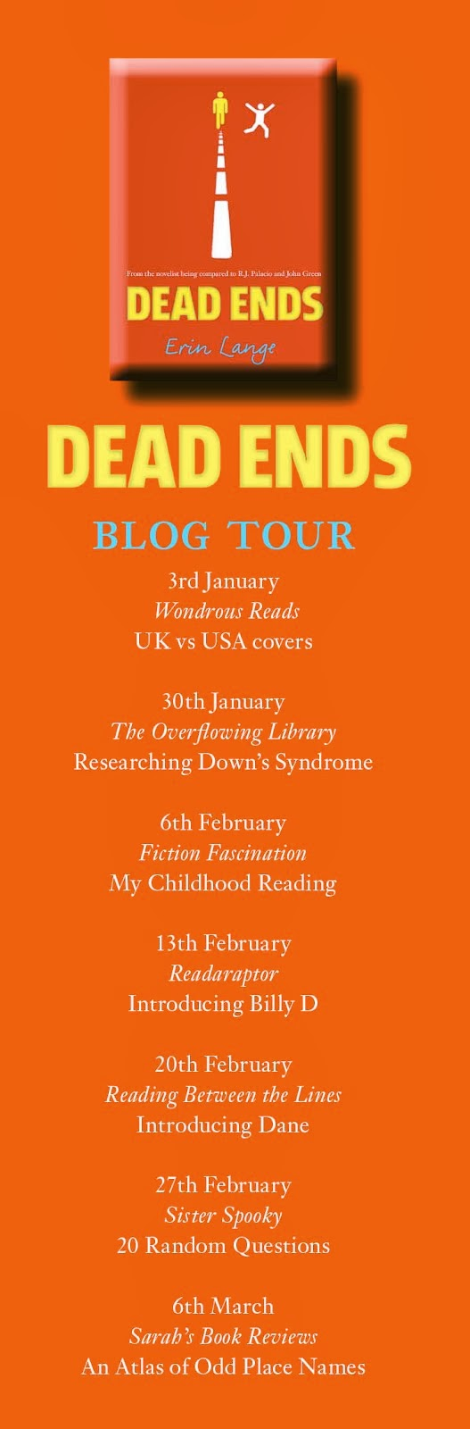 Dead Ends Blog tour
