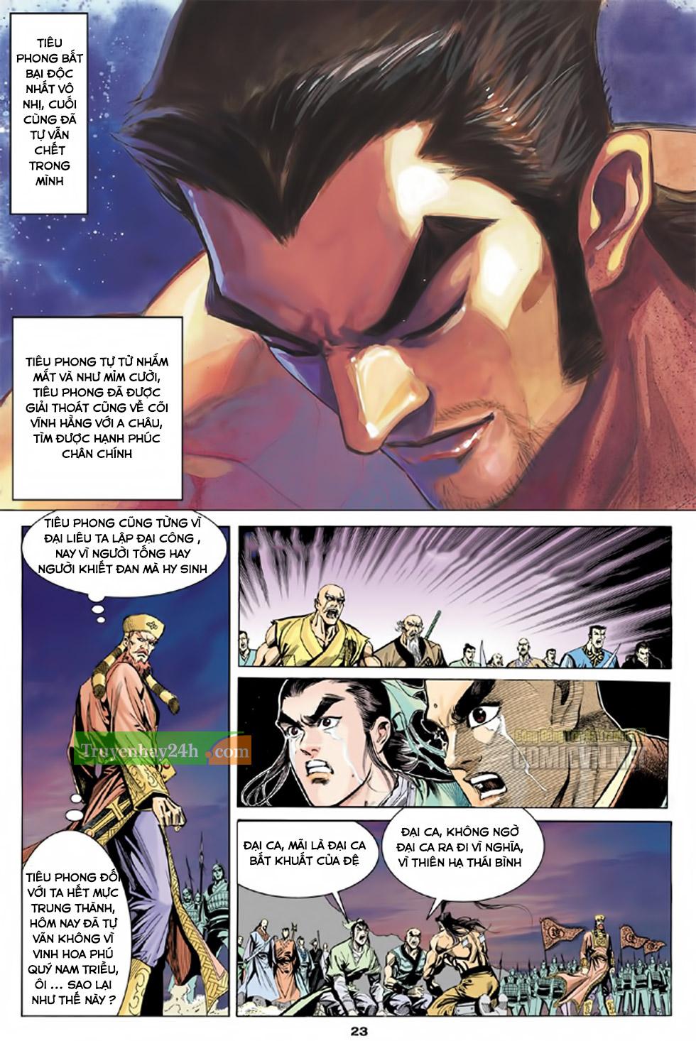 Thiên Long Bát Bộ chap 100 - Trang 24