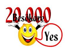 Grattis Fru Nilsson till dina 20 000 besökare