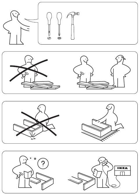 Istruzioni montaggio ikea pax