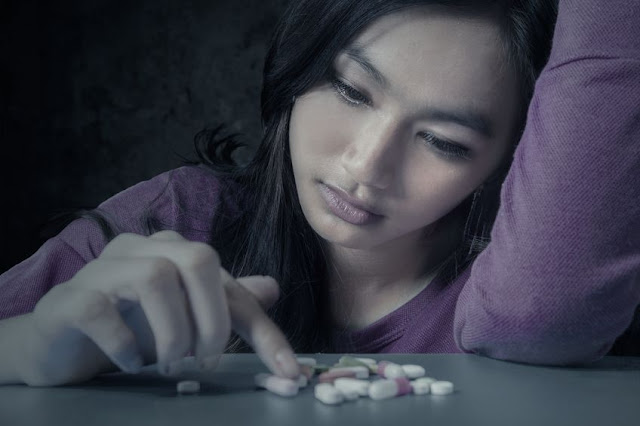 lekomanka licząca tabletki