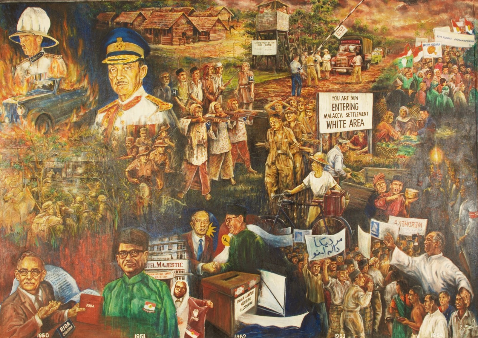 federation of malaya and the opposition it faced Federation of malaya on 31st august, 1957, the revolt continued, but it has lost its main drive as an anti-colonial fight in fact, it became an anti-national revolt.