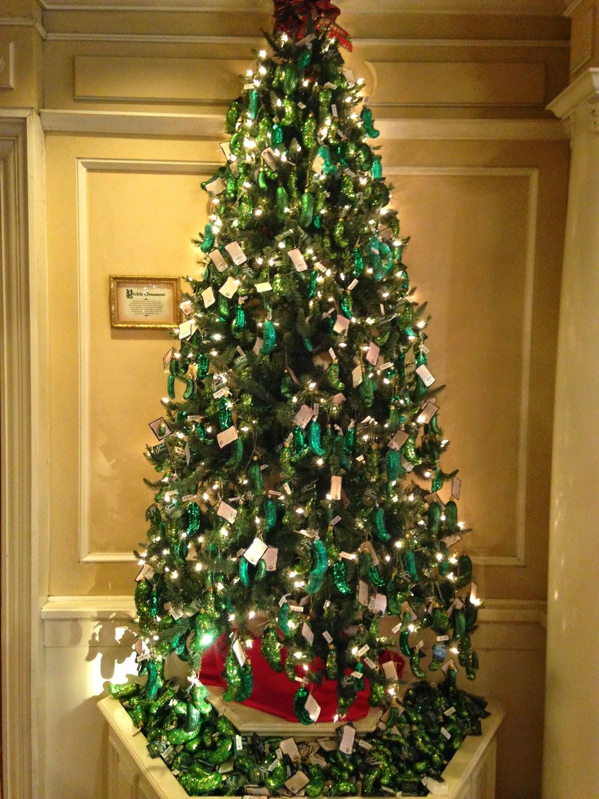 gurke am weihnachtsbaum my blog
