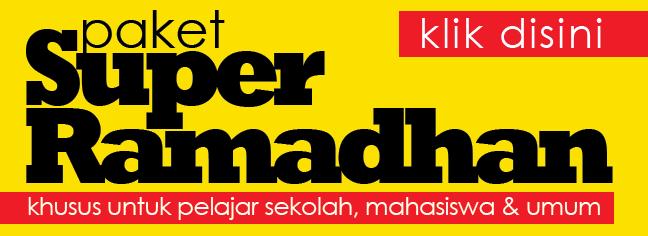 Paket Super Ramadhan 2018