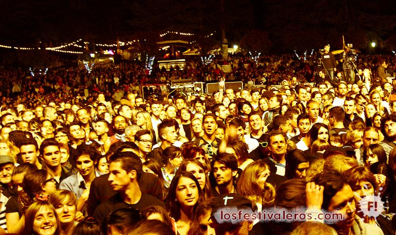 Público del Festival Les Déferlantes 2014