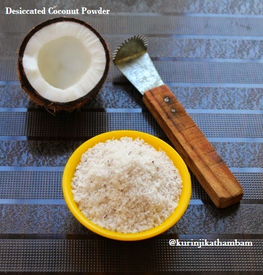 Homemade Desiccated Coconut