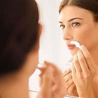 enlever la barbe chez les femmes
