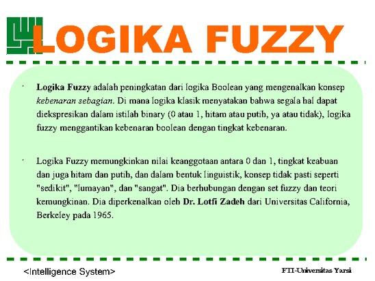 LOGIKA FUZZY ADALAH EBOOK DOWNLOAD