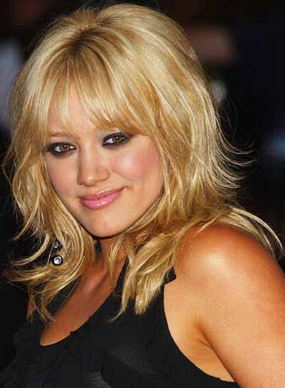 hilary duff hairstyles in celebrityin