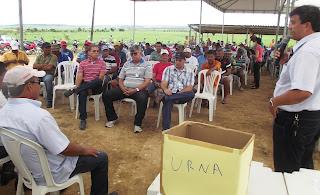 Agricultores elegem conselhos administrativo e fiscal no Perímetro de Irrigação do Boacica