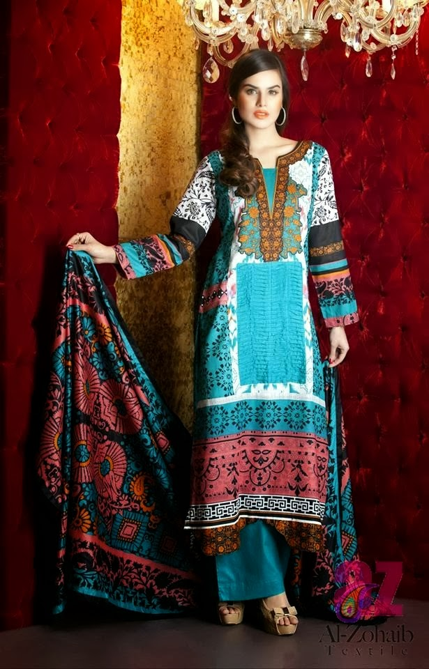 AL ZOHAIB Summer Lawn Collection