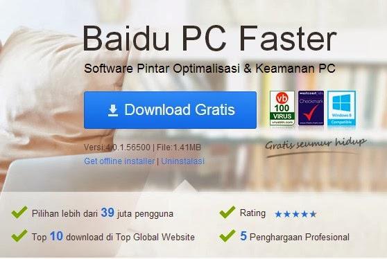 Baidu PC Faster - Optimasi Kinerja dan Keamanan Komputer