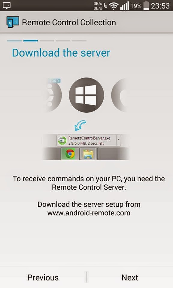 Remote control connection 2