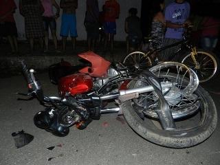 JUAZEIRO DO NORTE-CE: Um morto e três feridos em colisão entre motos