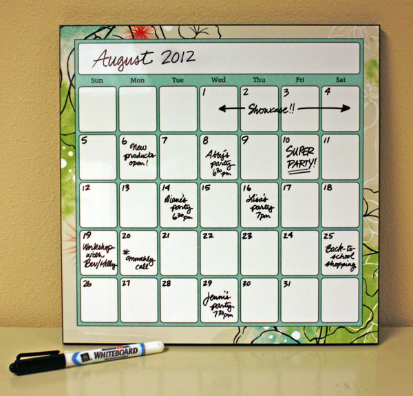 Creative Digital Calendar sharing memories scrapbooking: organizing with creative memories