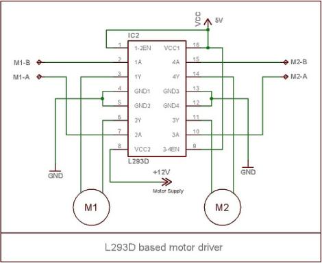 Miraculous Robotics L293D Motor Driver Wiring Database Pengheclesi4X4Andersnl