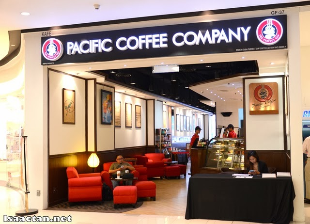 Pacific Coffee Company Paradigm Mall