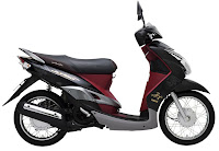 Motorcycles in Vietnam. Yamaha Mio Ultimo