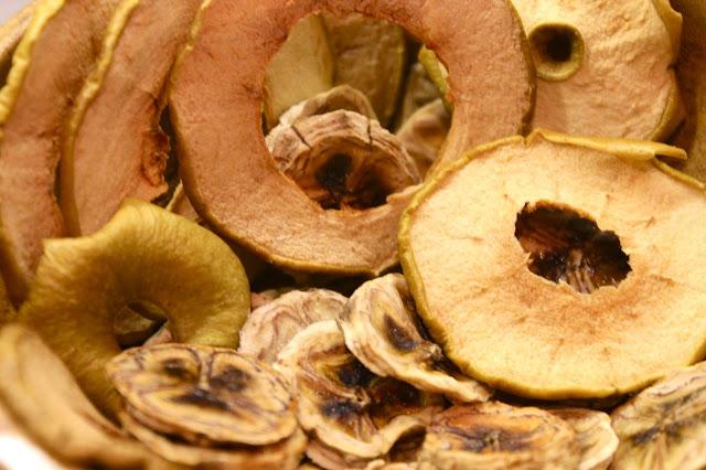 diy dried fruit crisps