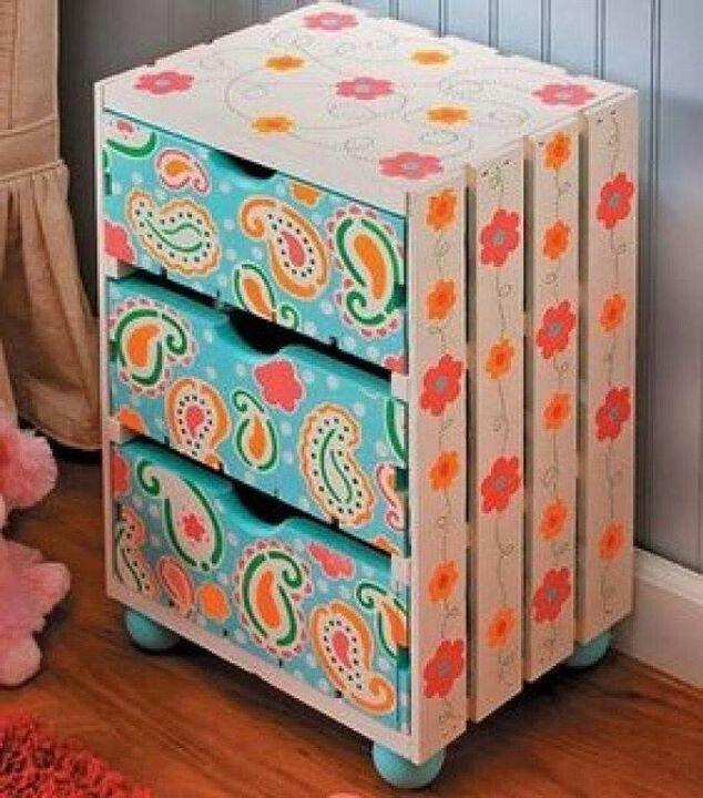 Reciclar reutilizar y reducir fabulosas ideas para - Ideas para reciclar cajas de madera ...