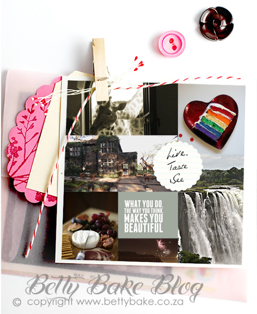 collage, travel, betty bake, waterfall, buttons, pretty, blog, food, giraffe