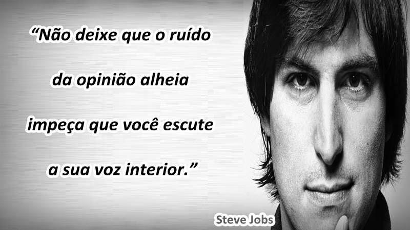 Frase De Steve Jobs Frases Postadas
