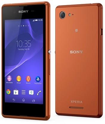 Sony Xperia E3 4G Android KitKat Murah Rp 1 Jutaan