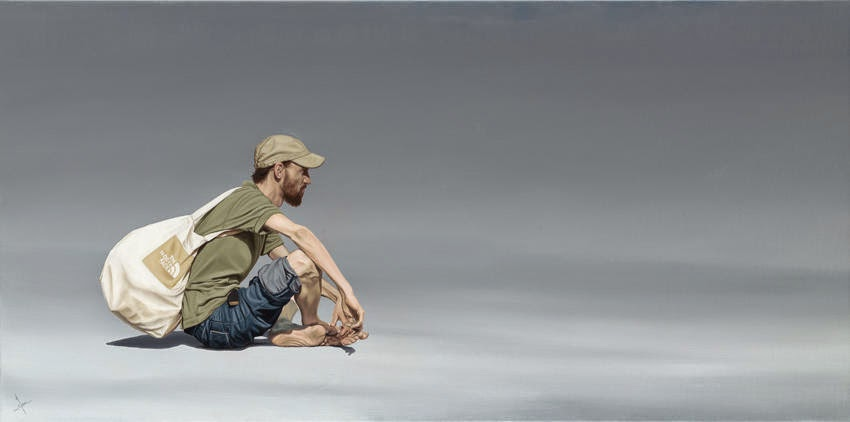 24-The-North-Face-Nigel-Cox-Photo-realistic-Minimalism-in-Surreal-Paintings-www-designstack-co