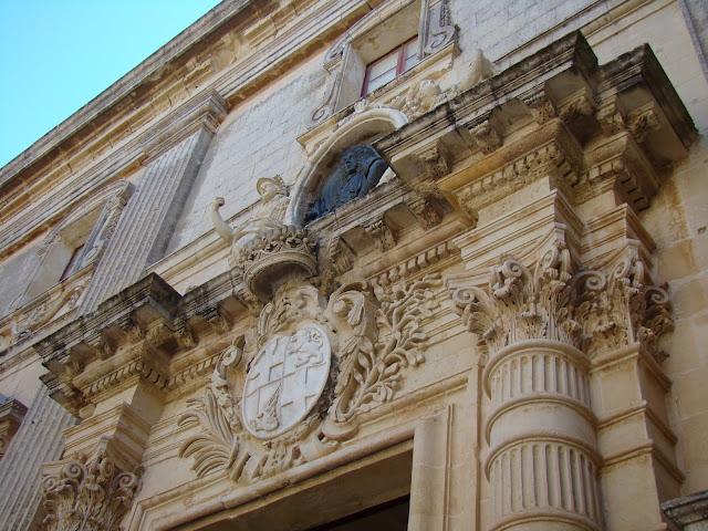 magisterial palace, mdina, malta