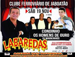 CLUBE FERROVIÁRIO DE JABOATÃO - LABAREDAS.