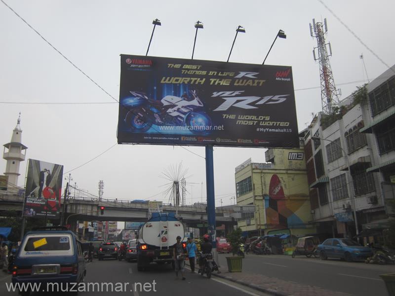 Ini balasan Yamaha terhadap Tagline All New Honda CBR 150R . . . !
