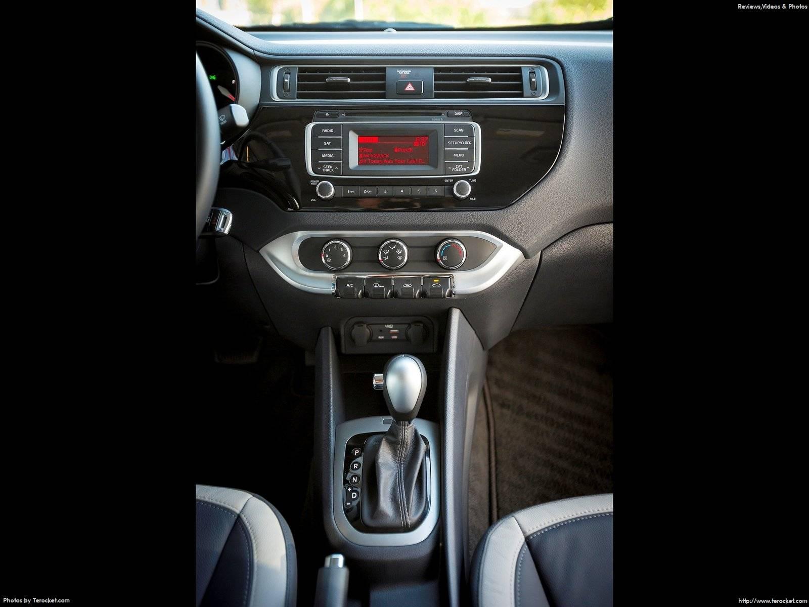 Hình ảnh xe ô tô Kia Rio Sedan 2016 & nội ngoại thất