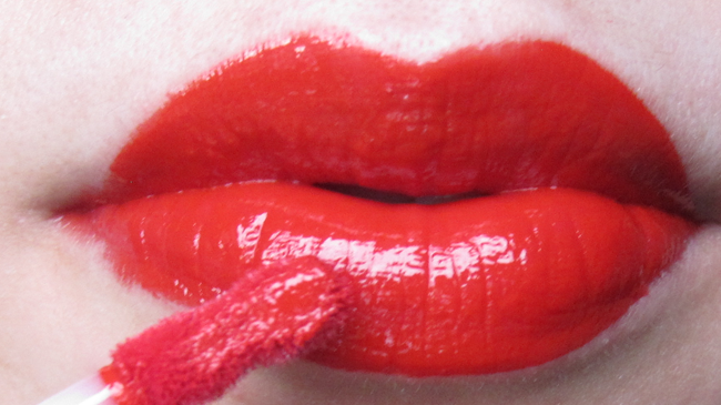 Smashbox Be Legendary Long Wear Lip Lacquer in Firecracker review