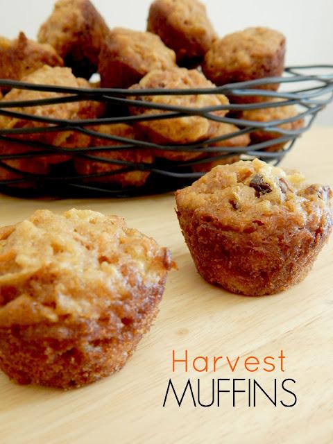 harvest muffins (sweetandsavoryfood.com)