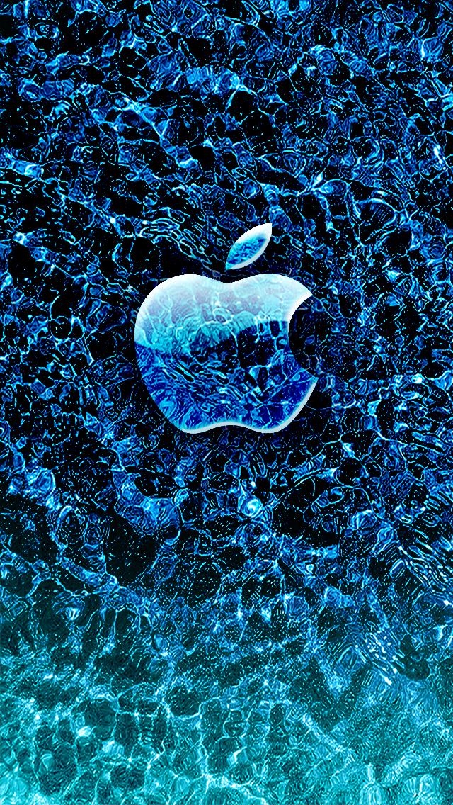 Ice Apple iPhone Mobile Wallpaper