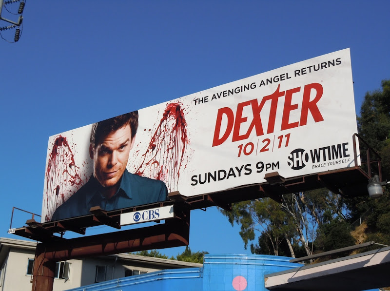Dexter season 6 Showtime billboard