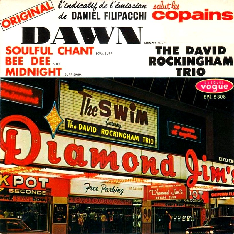 David Rockingham Trio, The - Soulful Chant / Joy-De-Vie