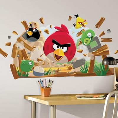 dormitorio angry birds